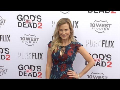 "Korie Robertson ""God's Not Dead 2"" Premiere Red Carpet"