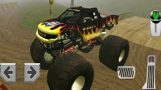 4x4 Dirt Offroad Parking Gameplay Walkthrough Part 3 - Drive Big Wheel Jeep Fun Racing