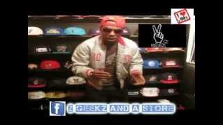 Chris Styles Of 2 Geekz And a Store Personal VTG Snapback  ( WWVSE Top Ten Cypher)