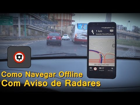 Como Navegar Offline com aviso de Radar - Como Navegar Sem Internet - FVM