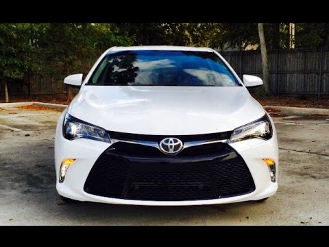 2015 Toyota Camry Xse Exhaust Start Up Review Short Drive