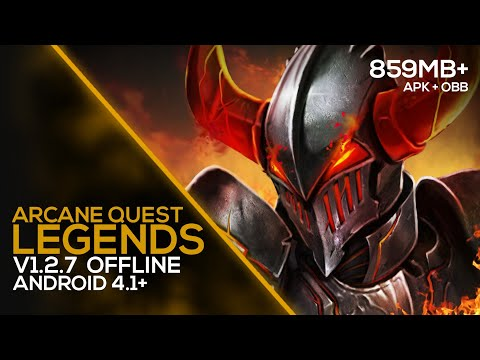 Arcane Quest Legends - GAMEPLAY (OFFLINE) 859MB+