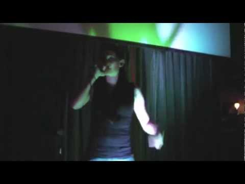 The Rhyme Along - Hip Hop Karaoke LA - 02.10.12 - California Love performed by Leilani