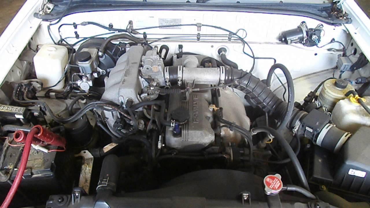 Mazda bravo b2600 engine