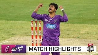 Hurricanes hold off Sixers to leap into top five   KFC BBL 10