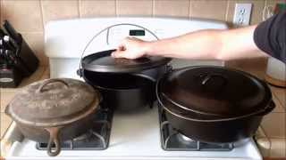 Cast Iron Dutch Ovens, Camp Ovens & Roasters