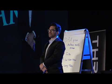 Tai Lopez in Las Vegas giving a talk at Thrive