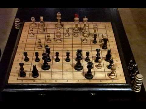 Sample Shogi Play using Eurasia-Chess pieces
