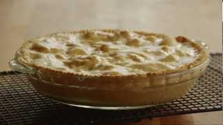 Pie Recipe-how To Make Old Fashioned Peach Pie