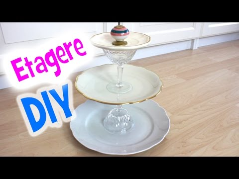 diy etagere do it yourself shabby chick youtube. Black Bedroom Furniture Sets. Home Design Ideas