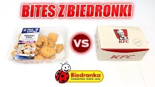 TEST BITES Z BIEDRONKI ZA 10 ZŁ VS KFC