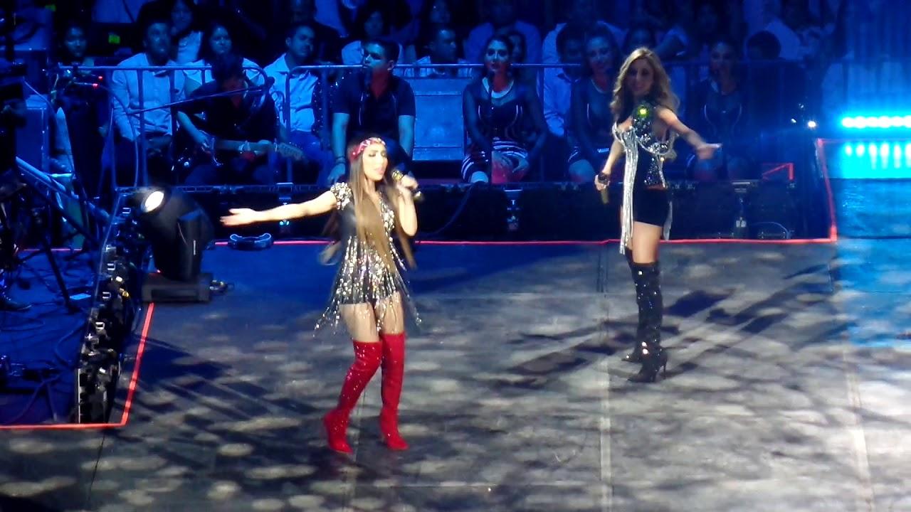 Sorprenden al público las hijas de Marco Antonio Solís cantando en Morelia (2018)