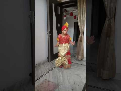 Prize Winning Performance Of Aarvi Gupta As Golden Fish In Fancy Dress Competition