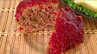 Meatloaf Recipe-How To Make Cook Meatloaf-Vietnamese Meatloaf-American Asian Comfort Food