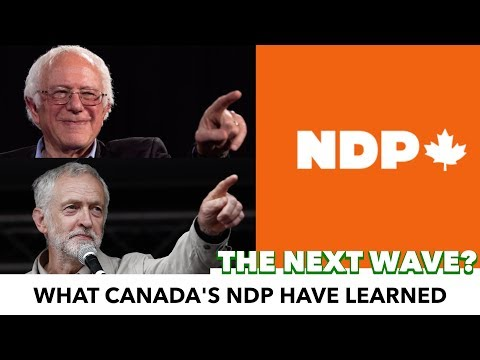 What Canada's NDP Have Learned From Bernie & Corbyn That Democrats Haven
