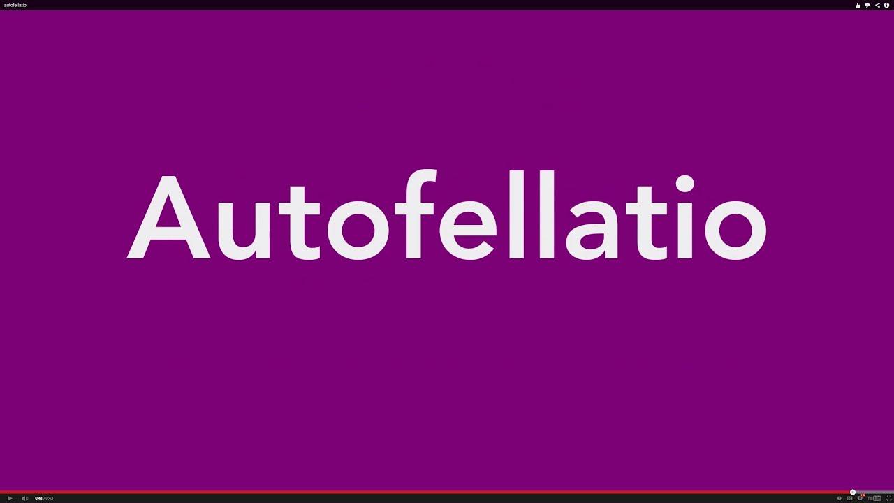 autofelatio