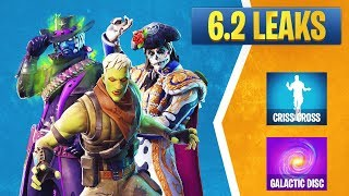 Fortnite 6.2 Leaked Skins: Deadfire, Dante, Rosa, Brainiac, Galaxy Items, Emotes, & More