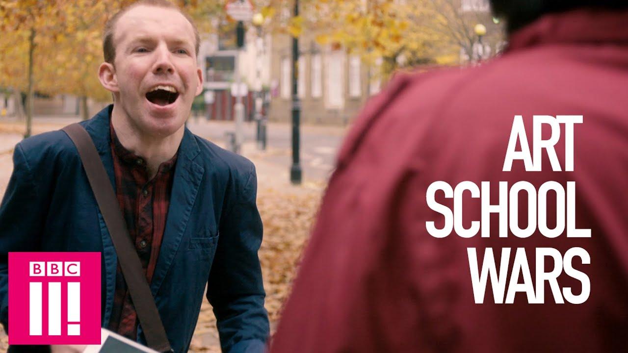 Art School Wars: Jerk v Lost Voice Guy - YouTube