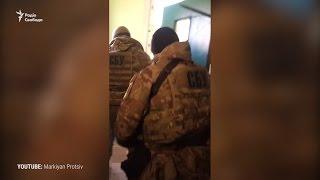 Силовики під дверима Марушевської – відео чоловіка