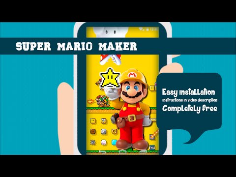 Free Live Wallpaper Gamers Super Mario Maker #Mario