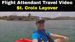 Gambar cover Flight Attendant Life: St  Croix Layover