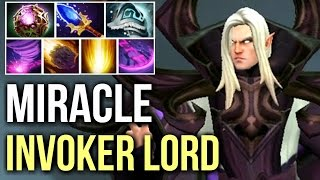 Miracle- Invoker EPIC SunStrike Combo Top 9k MMR Gameplay 7.06 Dota 2