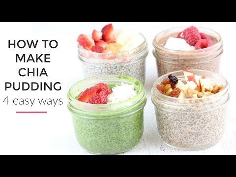 Chia Pudding Recipe 4 Ways | Healthy Breakfast Idea thumbnail