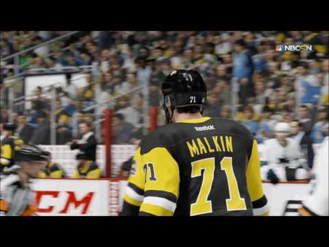 NHL 17 - San Jose Sharks vs Pittsburgh Penguins | Gameplay (HD) [1080p60FPS]