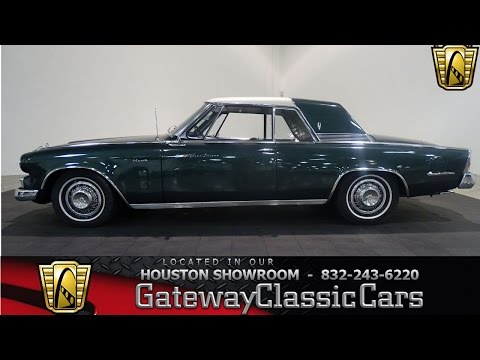 #706 HOU 1964 Studebaker Hawk Gateway Classic Cars Houston