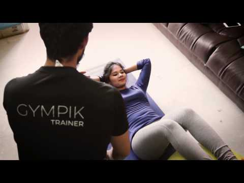 Personal fitness trainer at home gympik certified