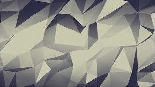 Abstract Polygonal Geometric Background | Triangle Shape Backdrop