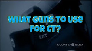 Roblox CBRO What Weapons To Use For CT. Best Guns To Use For CT CBRO Roblox