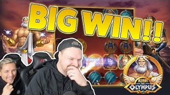 Rise Of Olympus BIG WIN -  Huge win with Hades free spins - Casino games
