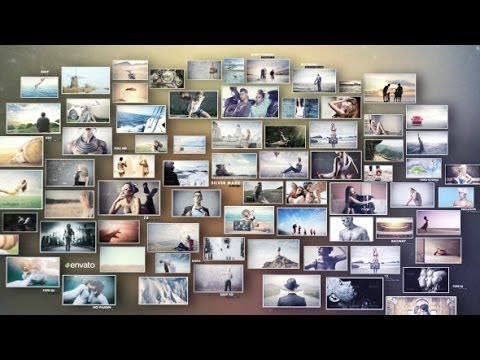 3D Photos Slideshow (After Effects Template)