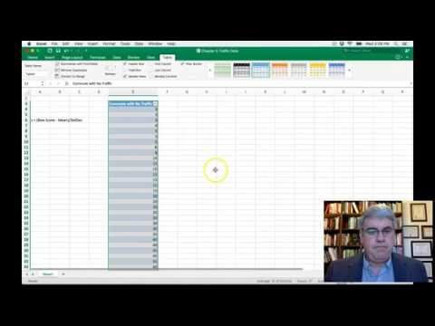 How To Calculate Z-Scores From Raw Data With Excel 2016 For Mac