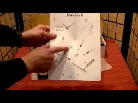 Reloj pared adhesivo metal youtube - Reloj pared adhesivo ...