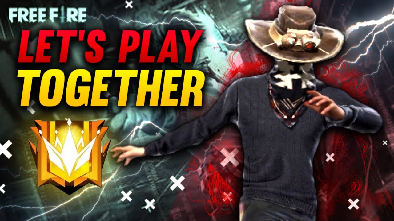 Let's play together with EPIC || Free Fire biggest collaboration with Cristiano Ronaldo and dj Alok