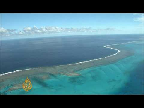 New Caledonia reef under threat