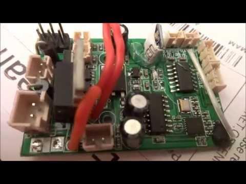 receiver board change v912 banggood youtube rh youtube com
