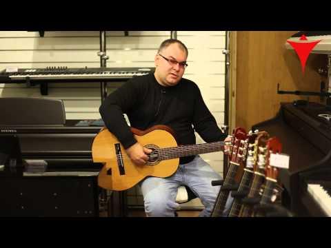"""Как выбрать классическую (акустическую) гитару. Обзор ведущего специалиста магазина """"Мир музыки"""""""