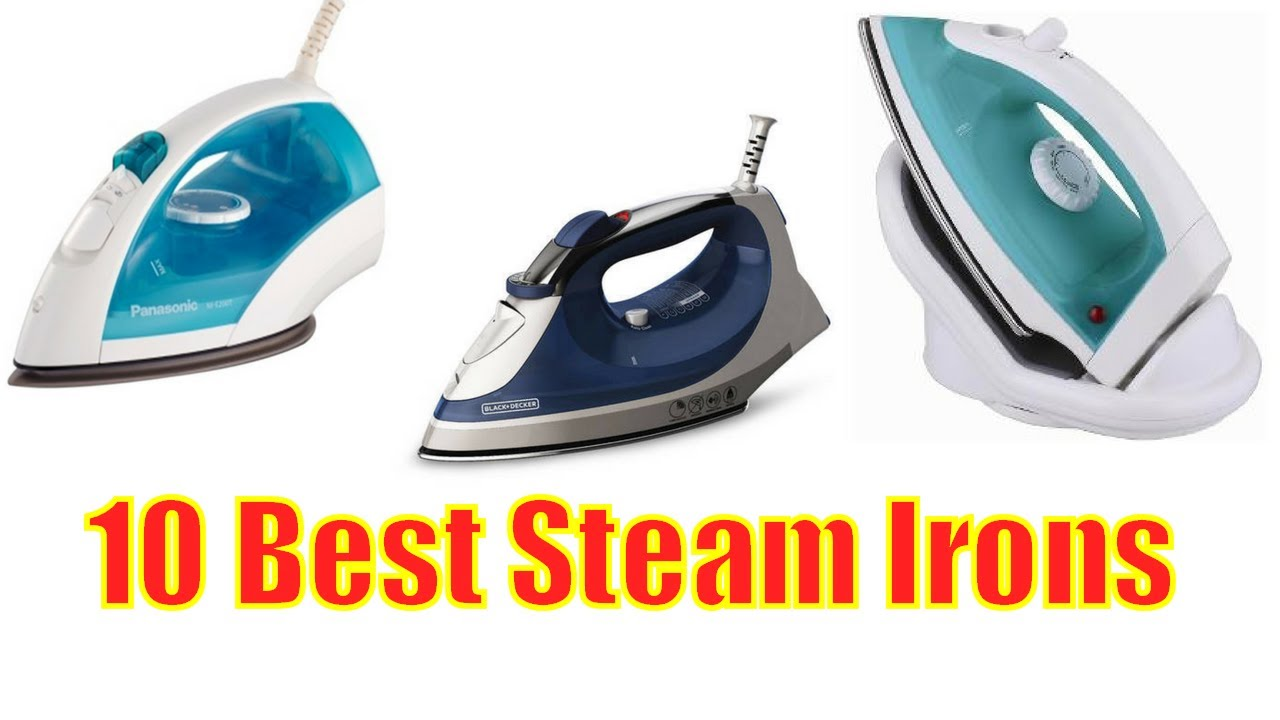 10 Best Steam Irons 2017 For Clothes Steamirons