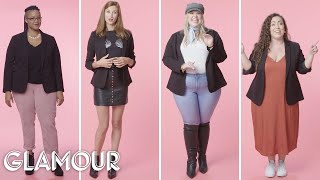 Women Sizes 0 to 28 on What They Wear to Feel Confident | Glamour