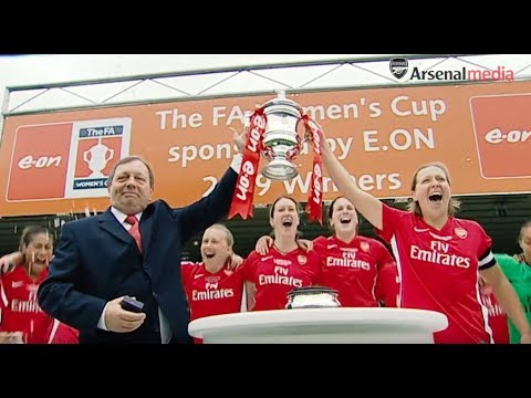 Arsenal Women celebrate their 30-year anniversary