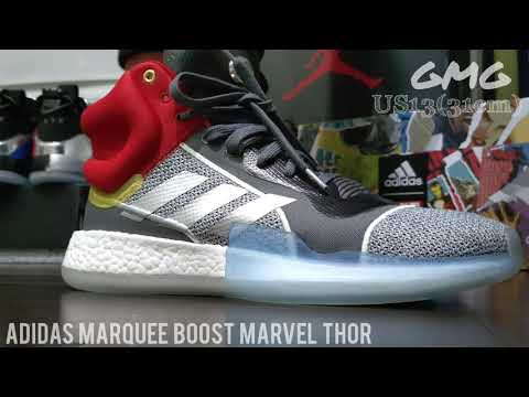Adidas Marquee Boost Marvel Edition