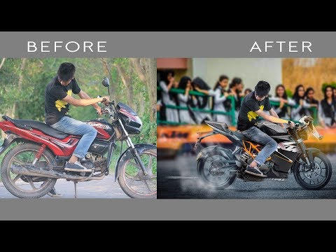 Ktm Bike Photo Manipulation