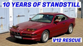 First Drive in 10 Years - Garden Find V12 BMW E31 850i Revival - Project Marseille: Part 4