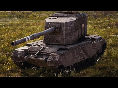 World Of Tanks FV4005 Stage II - 6 Kills 10,7K Damage