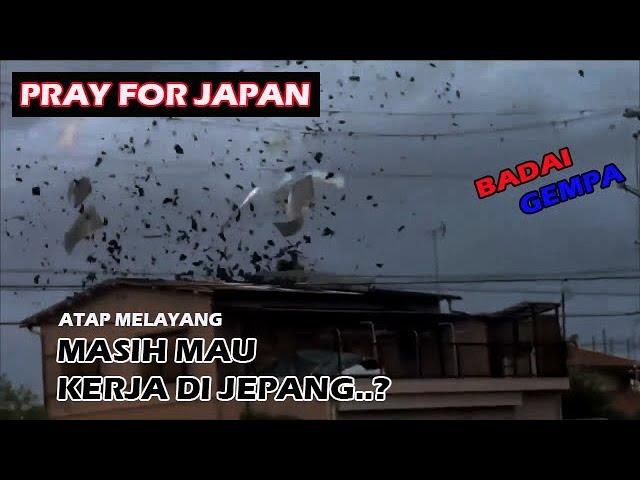 Jepang Berduka I Topan Terbesar 25 tahun silam datang lagi I Gempa Dahsyat jepang