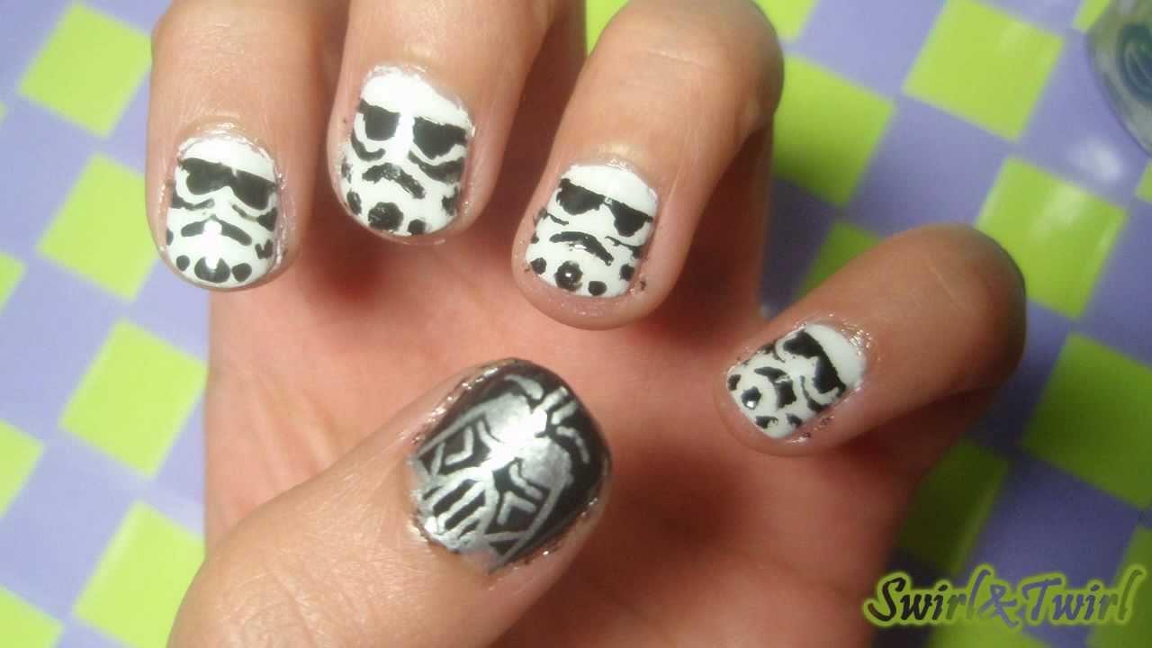 Especial Orgullo Friki: Uñas Stormtrooper - YouTube