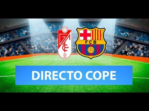 (SOLO AUDIO) Directo del Granada 3-5 Barcelona en Tiempo de Juego COPE